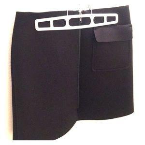 Neoprene ZIP up Skirt